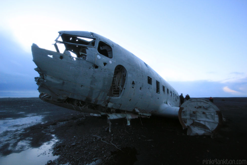 crashed b-52 world war 2 plane in Iceland