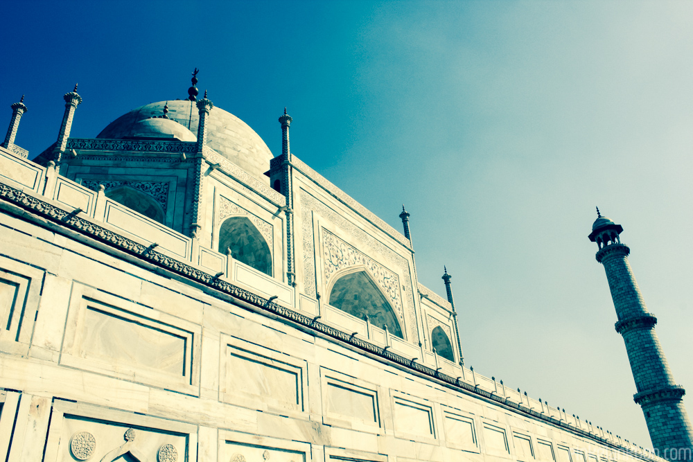 The Taj Mahal sideview