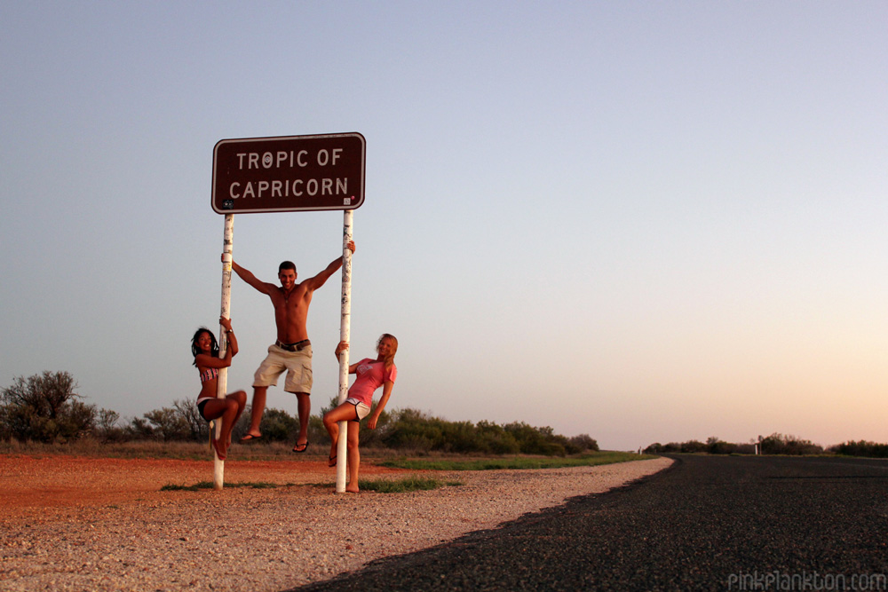 3 friends with tropic of capricorn sign