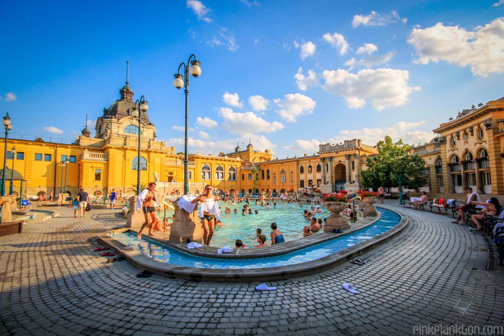 public baths in Budapest