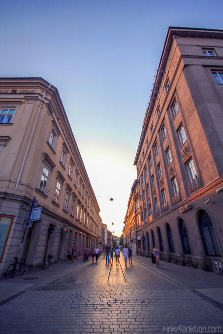 buildings n Krakow, Poland