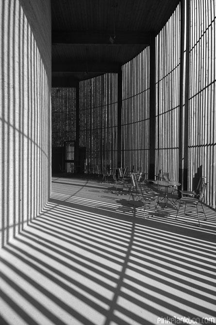 shadows in building