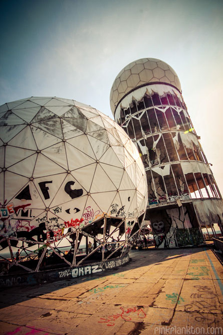 Teufelsberg abandoned US Spy Station in Berlin