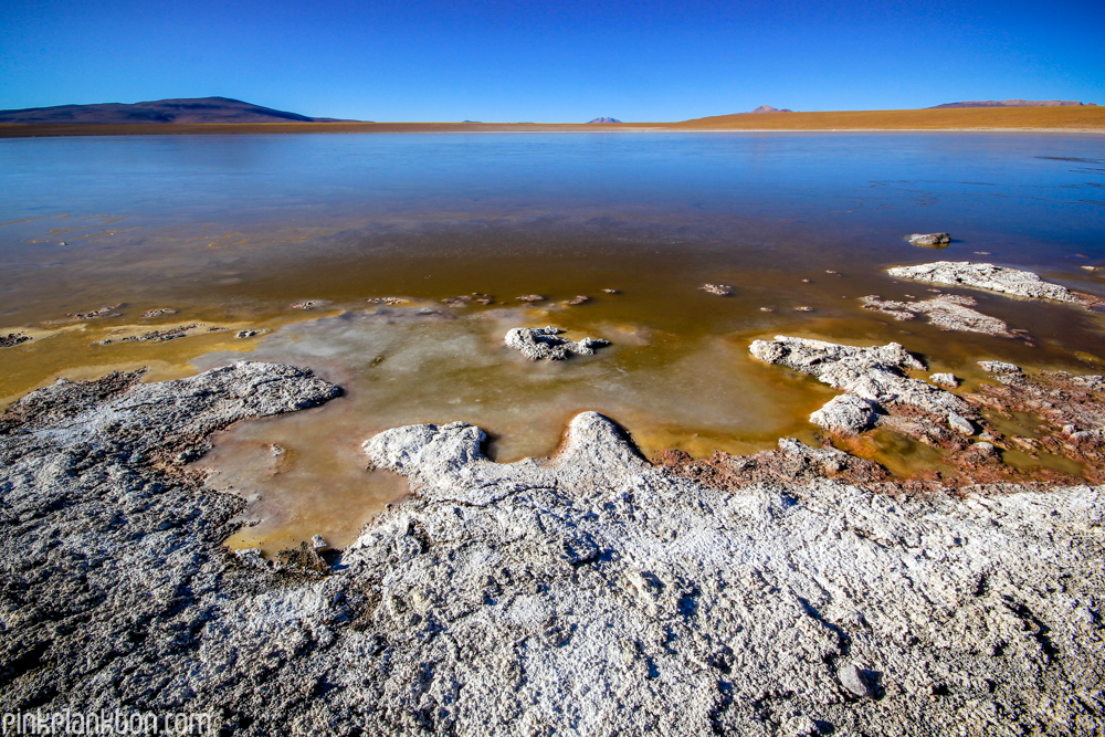 lagoon in south Bolivia