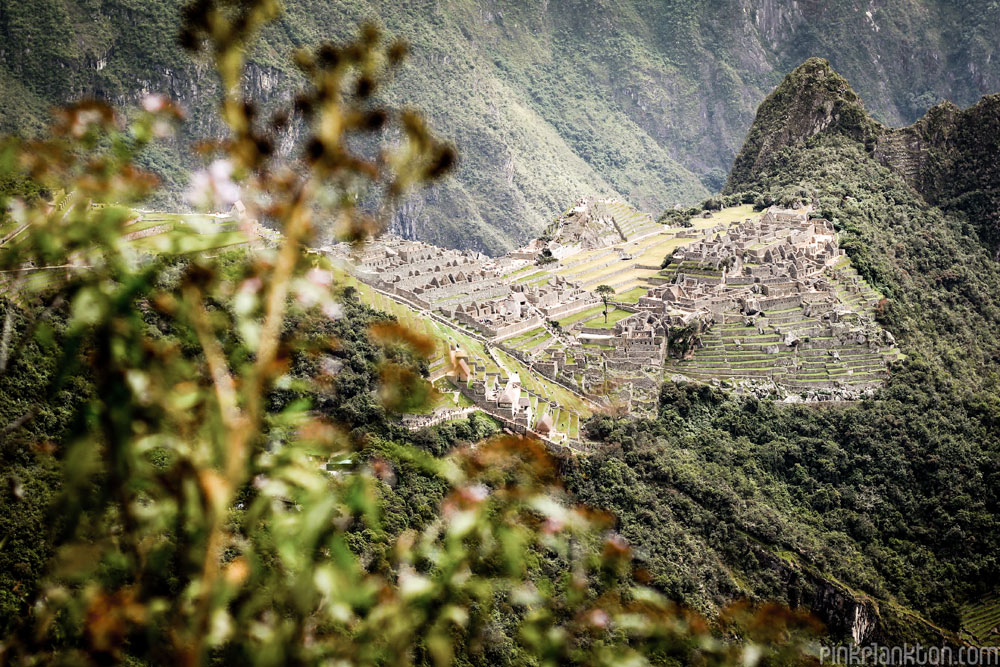 Machu Picchu taken from Sun Gate