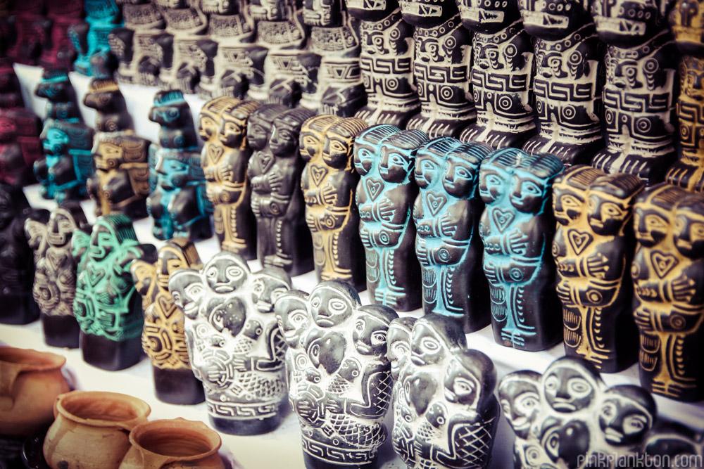 La Paz Witches Market in Bolivia