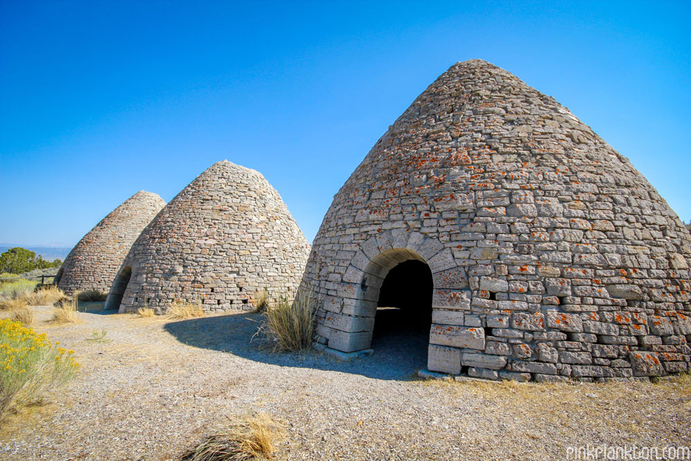 Ward Charcoal Ovens in Nevada, USA