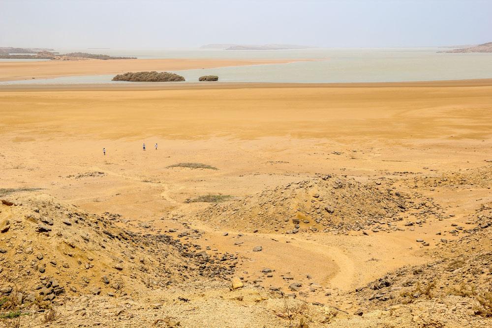 view near Punta Gallinas