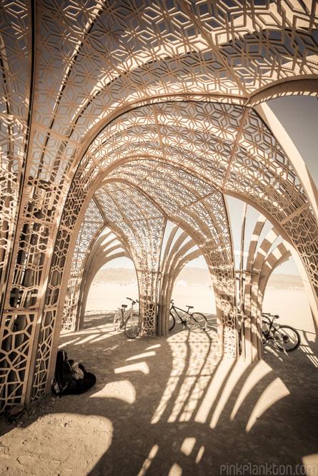 art installation at Burning Man