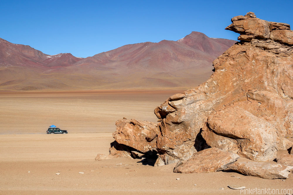mountains and rock formations in Bolivia