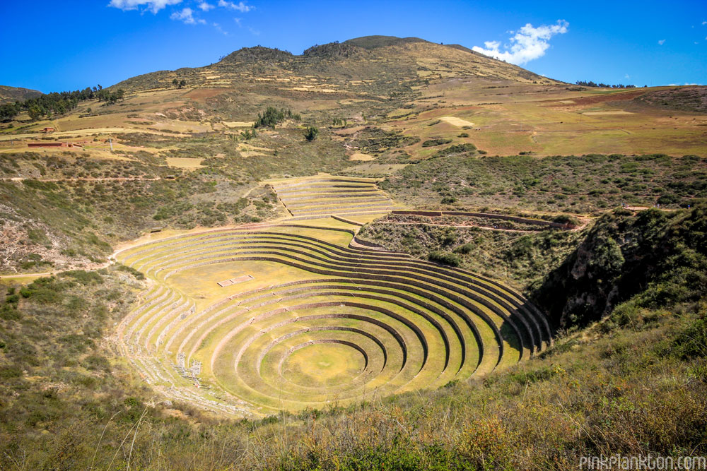 Moray Inca ruins in Cusco