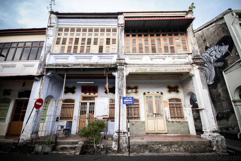colonial architecture in Georgetown, Malaysia
