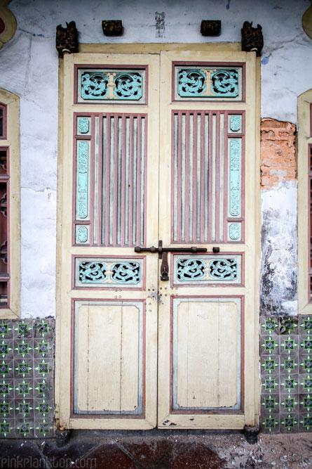 Georgetown, Malaysia, door