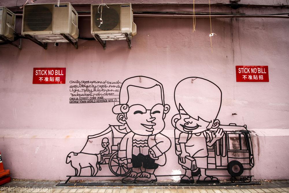 Georgetown, Malaysia, street art