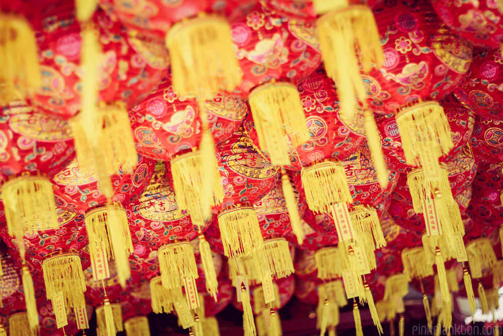lanterns for Chinese New Year