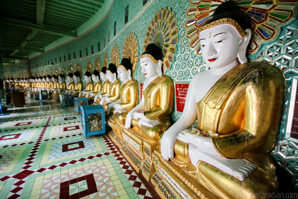 ‪Mahamuni Buddha Temple‬ in Mandalay, Myanmar