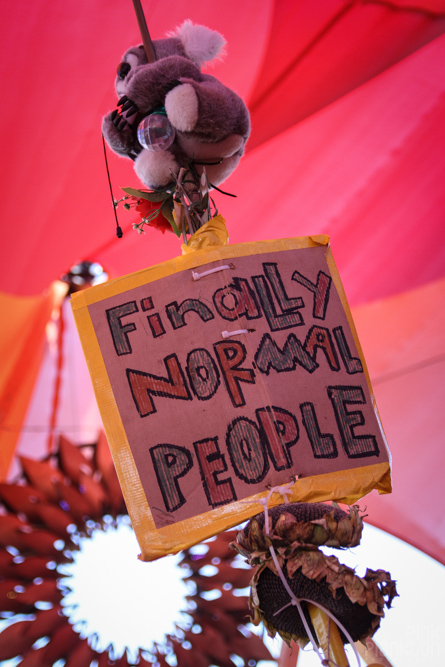 finally normal people sign at Boom Festival