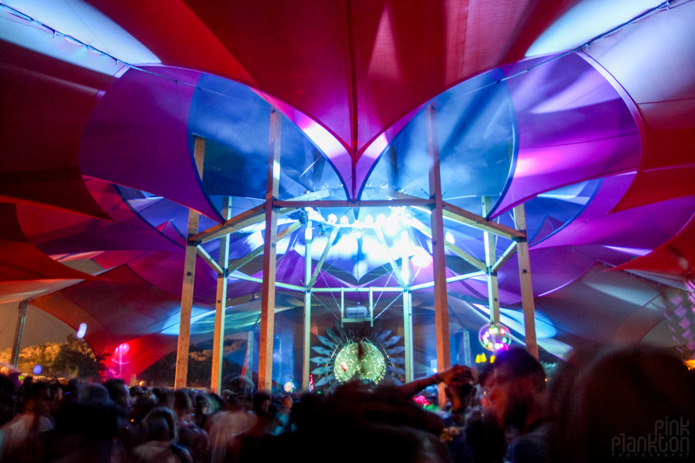 Alchemy Circle stage at Boom Festival