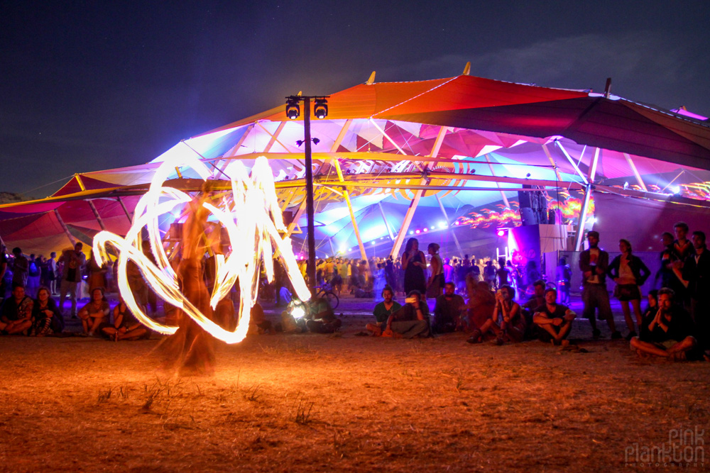 firespinners at Boom Festival