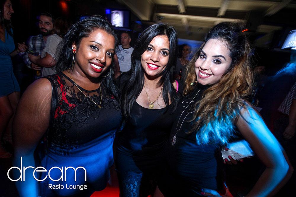 crowd in nightclub dream resto lounge