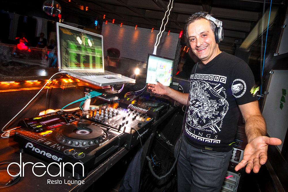 dj at nightclub dream resto lounge