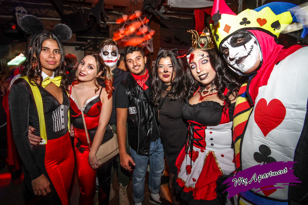 Halloween at My Apartment Club in Mississauga