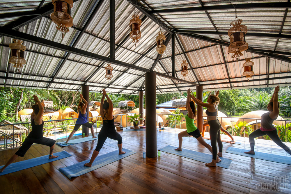 Yogalife Retreats in Thailand at Krabilife Homestay