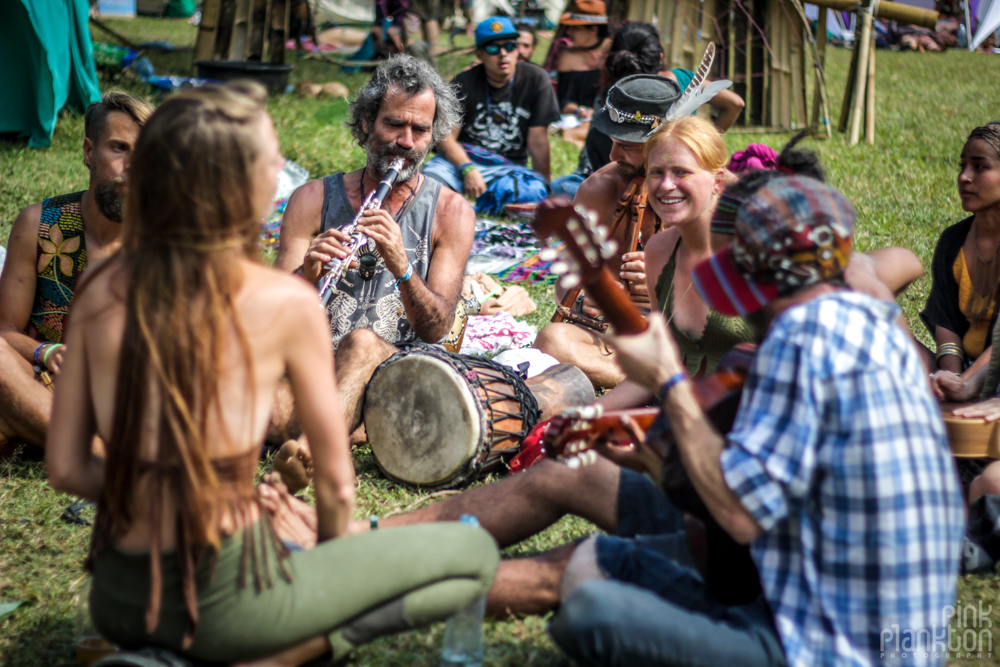 Cosmic Convergence Festival Guatemala jam session