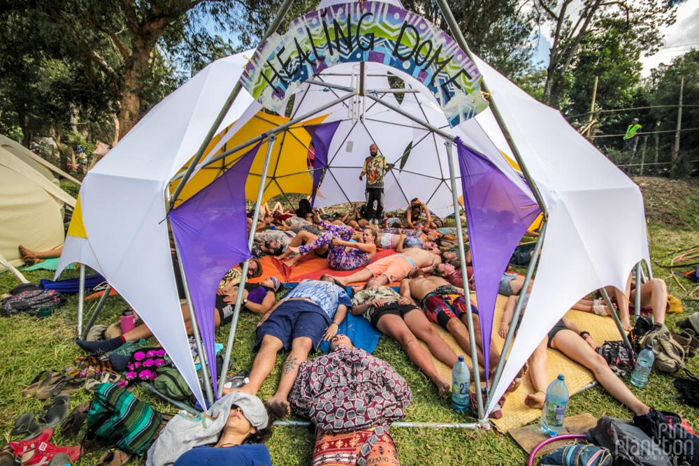 Cosmic Convergence Festival Guatemala healing dome