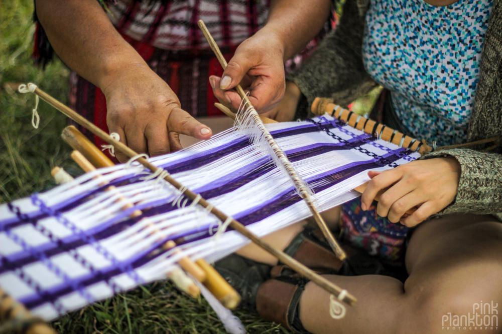 Guatemala traditional weaving