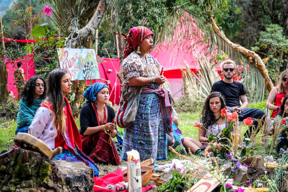 Cosmic Convergence Festival Guatemala opening ceremony
