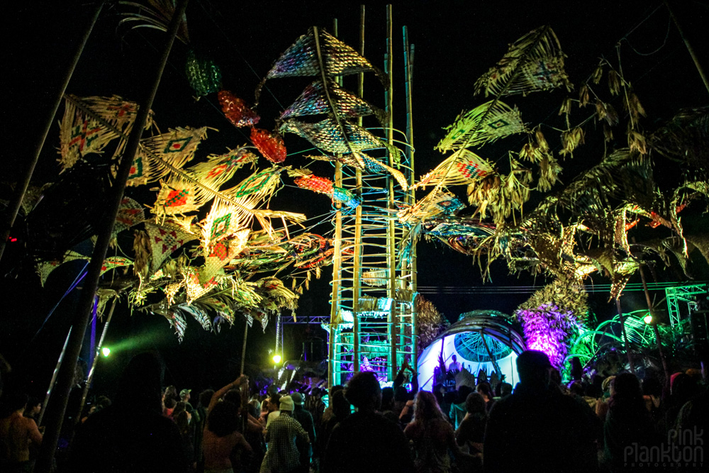 Cosmic Convergence Festival Ixim stage