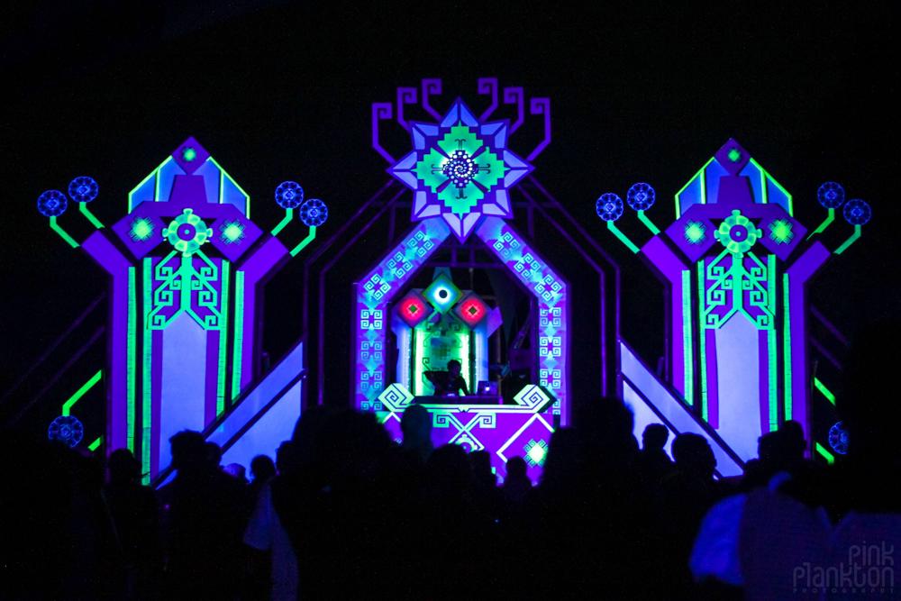 Cosmic Convergence Festival psytrance stage