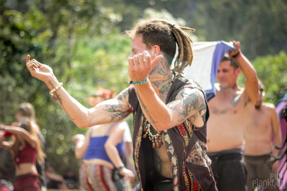Cosmic Convergence Festival dancefloor