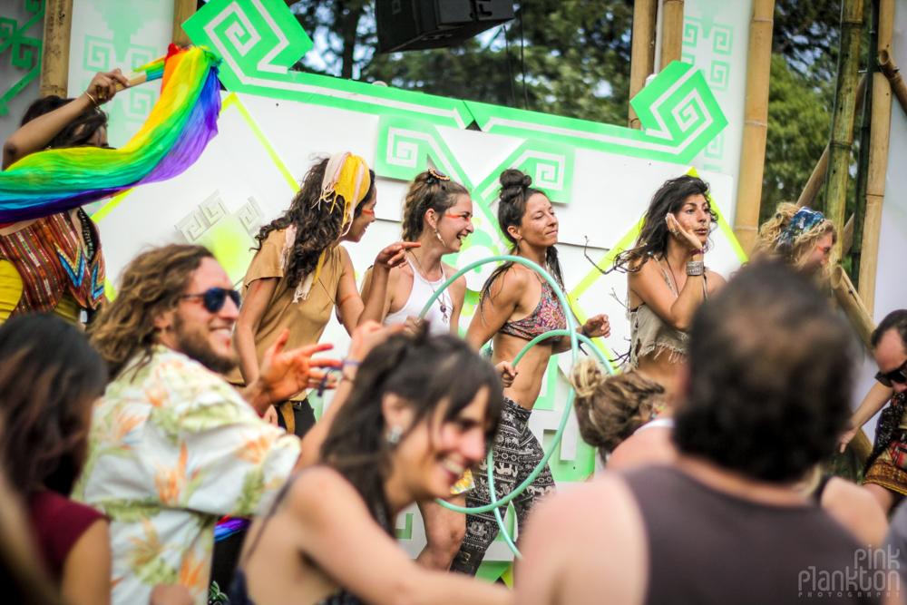 Cosmic Convergence Festival dancing