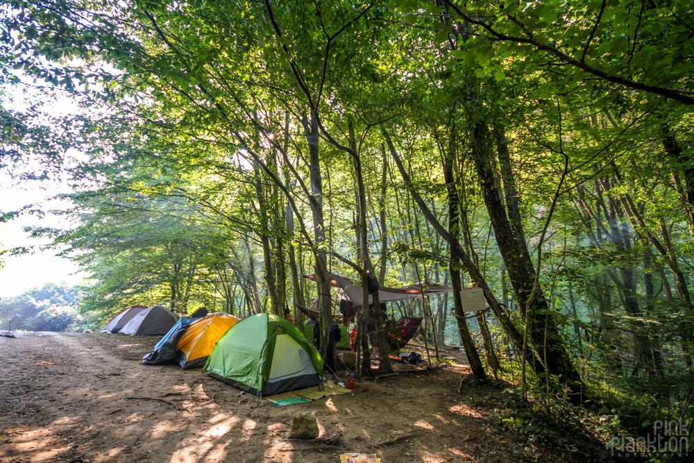 rainbow gathering camping