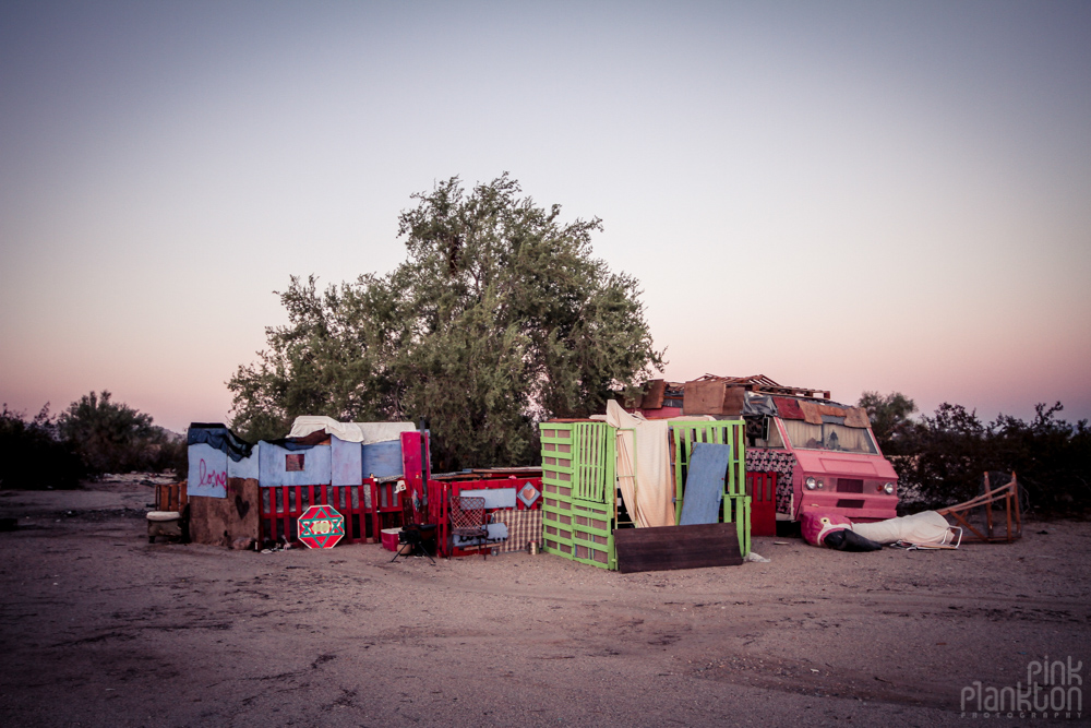 Slab City camp