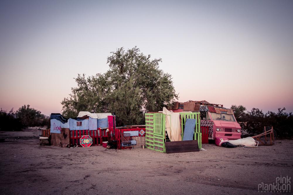 Slab City camp