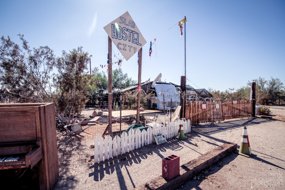 Slab City Hostel
