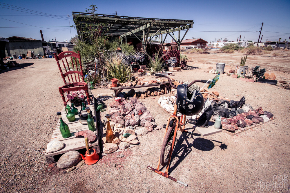 Bombay Beach art