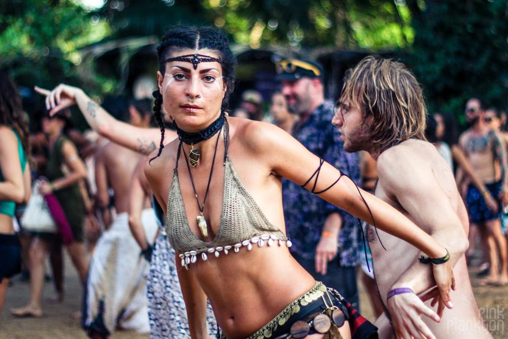 Envision Festival girl dancing
