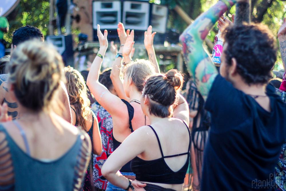 Envision Festival dance floor