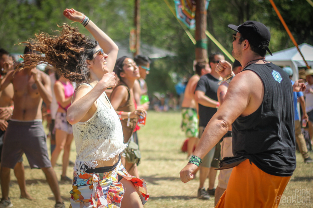 Festival Ometeotl dancing