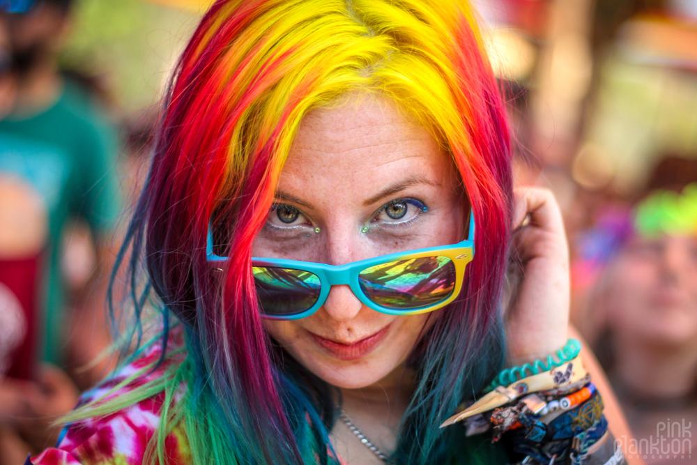 Festival Ometeotl rainbow girl