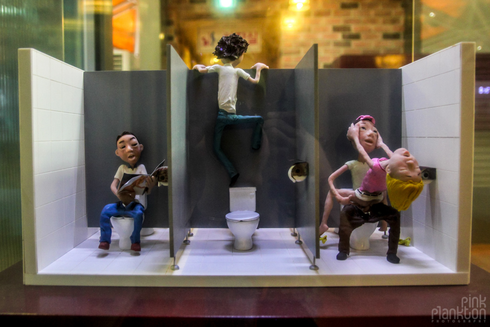 miniature sex figurines at Love Land in South Korea