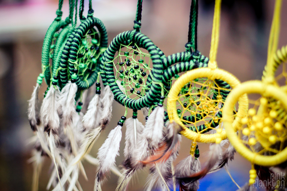Poison Festival in Mexico dreamcatchers