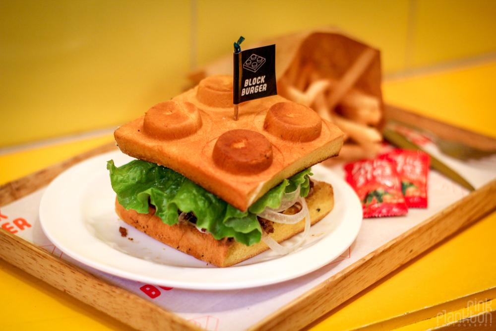 Block Burger restaurant in Seoul, South Korea