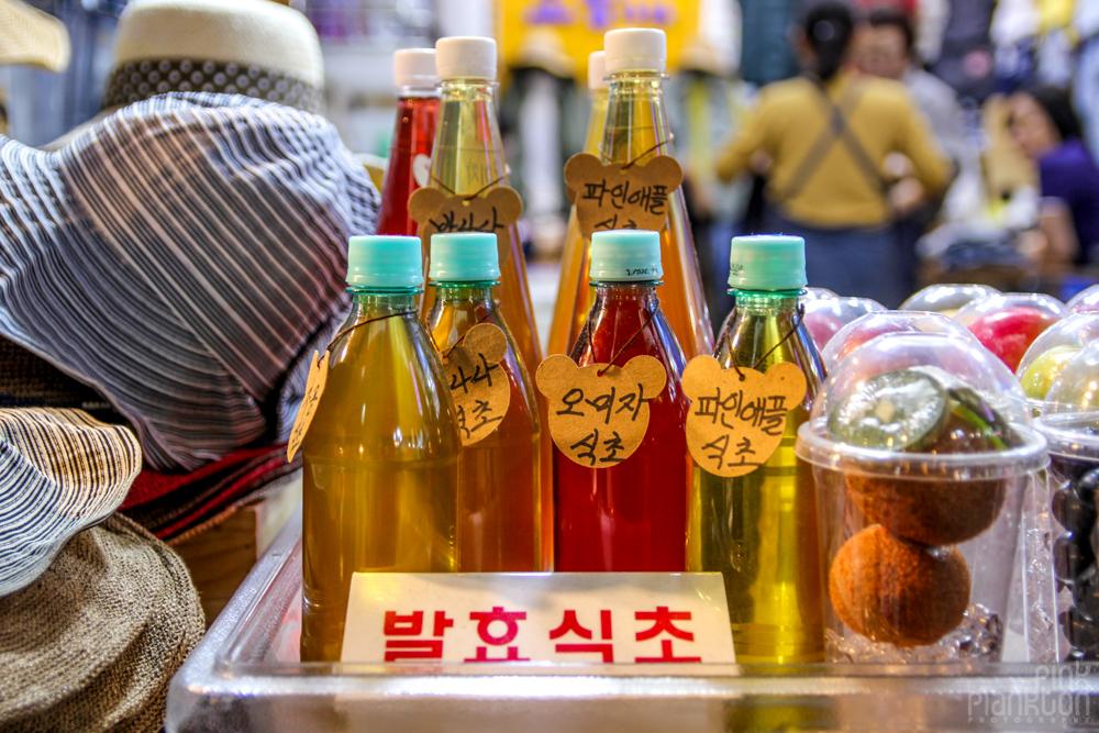 korean drink in market