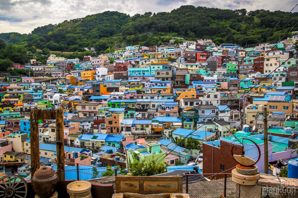 Gamcheon culture village in Busan, South Korea