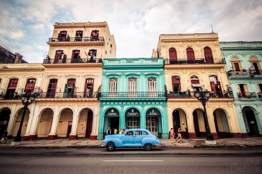 Havana, Cuba colorful buildings